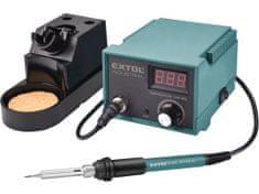 Extol Industrial stanice pájecí s LCD a elektronickou regulací teploty a kalibrací
