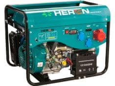 Heron Elektrocentrála benzínová a plynová LPGG 43-3F, 5,3kW, 3F, 13HP