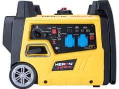 Heron elektrocentrála digitální invertorová 5,4HP/3,2kW, elektrický start