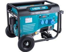 Heron elektrocentrála benzínová 7,0kW/15HP, pro svařování, podvozek