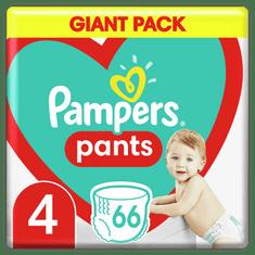 Pampers Plienkové Nohavičky Pants Veľkosť 4, 66 ks, 9 kg-15 kg