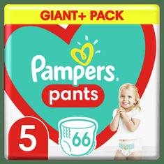 Pampers Plienkové Nohavičky Pants Veľkosť 5, 66 ks, 12kg-17kg