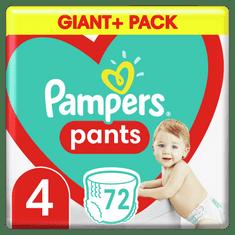 Pampers Plienkové Nohavičky Pants Veľkosť 4, 72 ks, 9 kg-15 kg