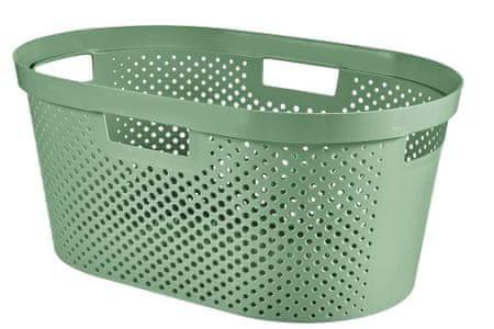 CURVER kosz na czyste pranie INFINITY 39 l zielony