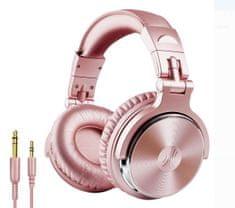 OneOdio Pro-10 růžová sluchátka