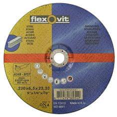 Flexovit Kotúč flexOvit 20447 115x6,5 A24R-BF42, rezný na kov