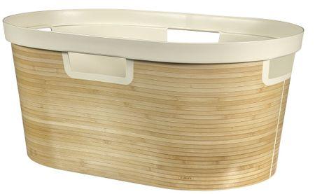 CURVER Kosz na pranie Infinity Bambus 39l