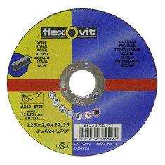 Flexovit Kotúč flexOvit 20431 125x2,0 A24R-BF41, rezný na kov