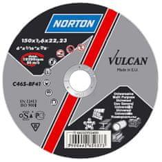 Norton Kotúč NORTON Vulcan A 150x1,0x22 A60T-BF41, rezný na kov a nerez