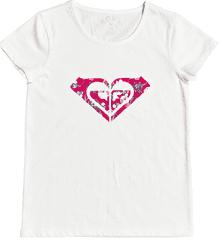Roxy dívčí tričko Endlessprint C ERGZT03571-WBK0