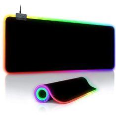 MG gaming podloga za miško, RGB LED, 78x30 cm, črna