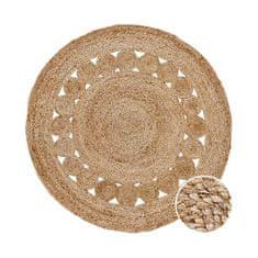 Butlers Konopný koberec s děrovaným vzorem - přírodní