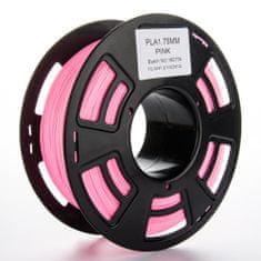 Miroluk Tisková struna PLA pro 3D tiskárny, 1,75mm, 1kg, růžová