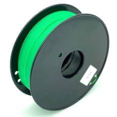 Miroluk Tisková struna PLA pro 3D tiskárny, 1,75mm, 1kg, průhledně zelená