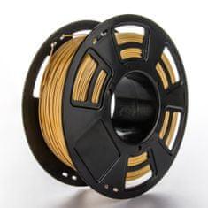 Miroluk Tisková struna ABS pro 3D tiskárny, 1,75mm, 1kg, zlatá