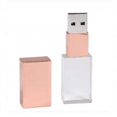 CTRL+C Pendrive Gold BRONZE z efektem podświetlenia