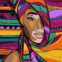 Kouzelný Art Farebná slečna