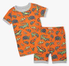 Hatley chlapecké pyžamo z organické bavlny Aquatic Reptiles S21REK205