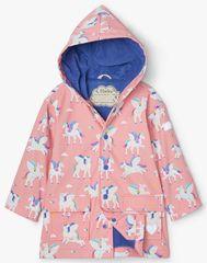 Hatley dívčí nepromokavá bunda do deště Magical Pegasus Colour Changing S21RPK1336