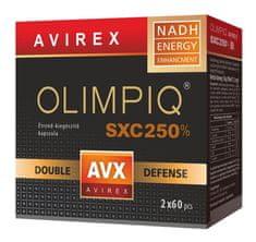 OLIMPIQ AVIREX SXC 250% kapsuly - terapia kmeňovými bunkami, posilňovanie imunitného systému so zvyšenim odolnosťi proti vírusom a baktériám 2x60 ks