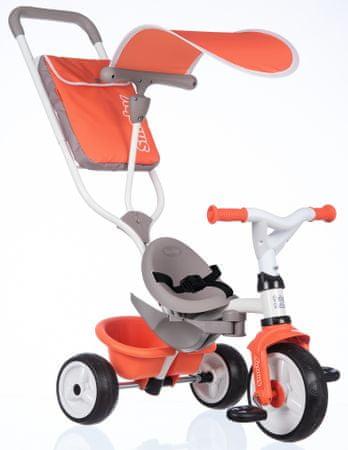 Smoby Baby Balade tricikli, piros