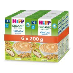 HiPP BIO Prvá obilná kaša - 100% ovsená 6x200 g