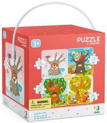 Dodo Toys slagalica Puzzle 4u1 Godišnja doba