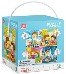Dodo Toys slagalica Puzzle 4u1 Moj dan