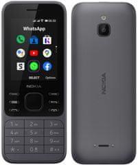 Nokia 6300 4G, Charcoal