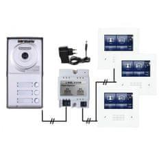 ACS Zoneway Set videozvonku ZONEWAY ZW-432M + ZW-702-3