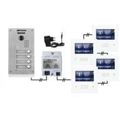 ACS Zoneway Set videozvonku ZONEWAY ZW-432M + ZW-738-4