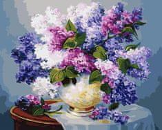 Kouzelný Art Malování podle čísel Kytice šeříku 2