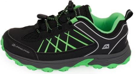 ALPINE PRO Nao gyerek outdoor cipő, 29, fekete