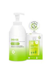 Dutybox Sada Prostriedok na umývanie riadu DISHES 2×50 ml koncentrátu + nádoba 500ml