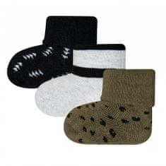 EWERS dětský 3pack kojeneckých ponožek 205222