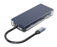 Orico WB-8P USB-C priključna postaja, 8 v 1