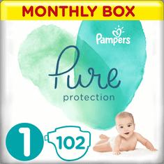 Pampers Premium Care pelenka, Méret 1, 102 db, 2-5 kg