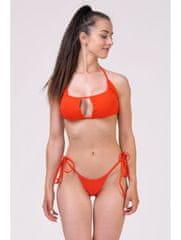 Nebbia Bikini top s riasením (vrchný diel) 671 Červená S
