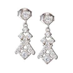 Preciosa Náušnice s kryštálmi Crystal Way 6021 00