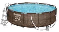 Bestway Bazén Steel Pro Max Rattan 3,66 × 1 m, sada 56709