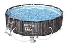 Bestway bazen Steel Pro Max Wood 5614Z, 4,27 × 1,07 m, komplet