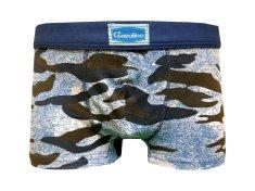 Gasolino 2583 chlapecké boxerky Barva: modrá tmavá, Velikost oblečení: 4-104