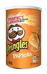 PRINGLES čips s papriko, 12 x 70 g