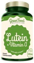 GreenFood Luteín + Vitamín A 60kapsúl