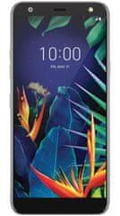 LG K40 LMX420 mobilni telefon, črn