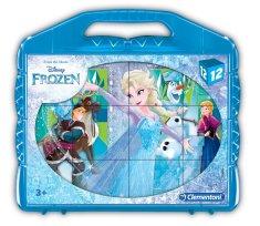 Clementoni kocky Frozen 12ks