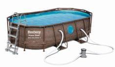 Bestway Bazén Power Steel Vista 4,27 × 2,50 × 1 m 56714