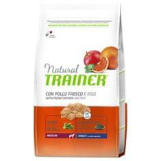TRAINER Natural Medium Ad. čerst. kuře 12kg