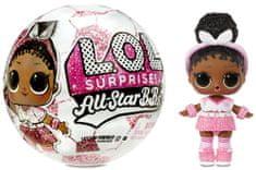 L.O.L. Surprise! Gwiazdy piłki nożnej, różowe