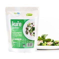 KetoLife Hotové jídlo - Kuře s brokolicí - 1 porce